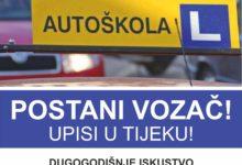 Photo of U Autoškoli otvoreni upisi za mjesec studeni i prosinac