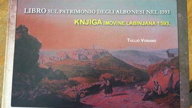 """Photo of Objavljena knjiga prof. Tullia Vorana """"Libro sul patrimonio degli albonesi nel 1593 – Knjiga imovine Labinjana 1593."""""""
